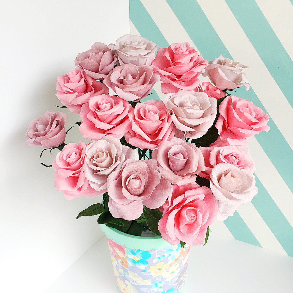 Hello Sandwich Paper Flowers for Kate Spade