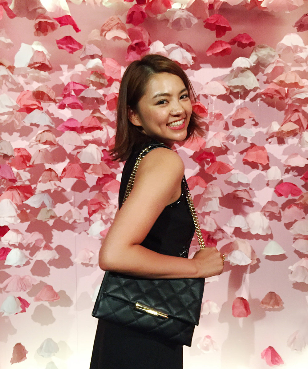 Hello Sandwich Crepe Paper Floral Backdrop for Kate Spade