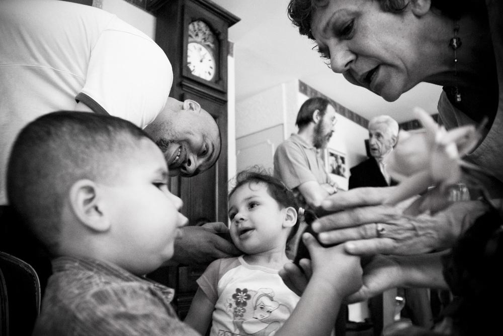 RESF - REPAS A LA DUCHERE ORGANISE PAR LES PARRAINS ET MARRAINES DES ENFANTS DE LA FAMILLE.