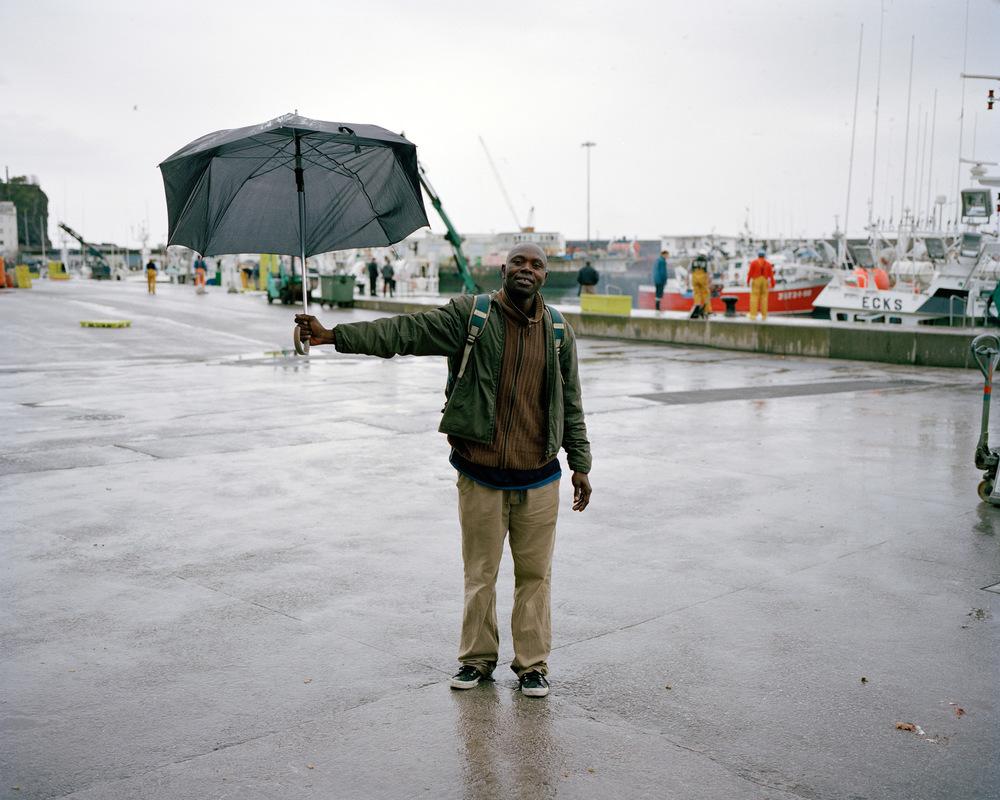 Lassana Kantou Sarr, Port d'Ondarroa, Espagne.