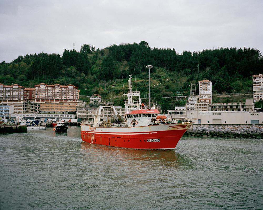 Port d'Ondarroa, Espagne.