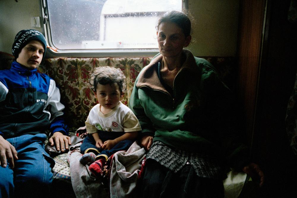 Darius, Armando et Liliana. La Grand-Combe, 2010.