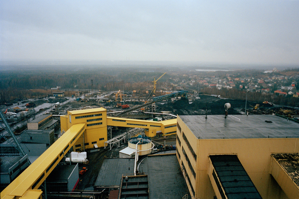 Mine de charbon de Janina, Libiąż,  Malopolskie. Pologne. 2013