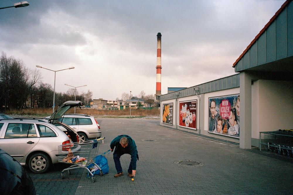 Mine de Kleofas en démantèlement. Agglomération de Katowice. Décembre 2013