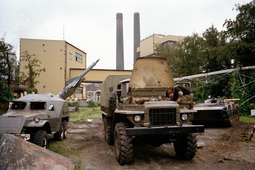 Mine de Luiza en cessation d'activité. Zabrze. Juin 2013