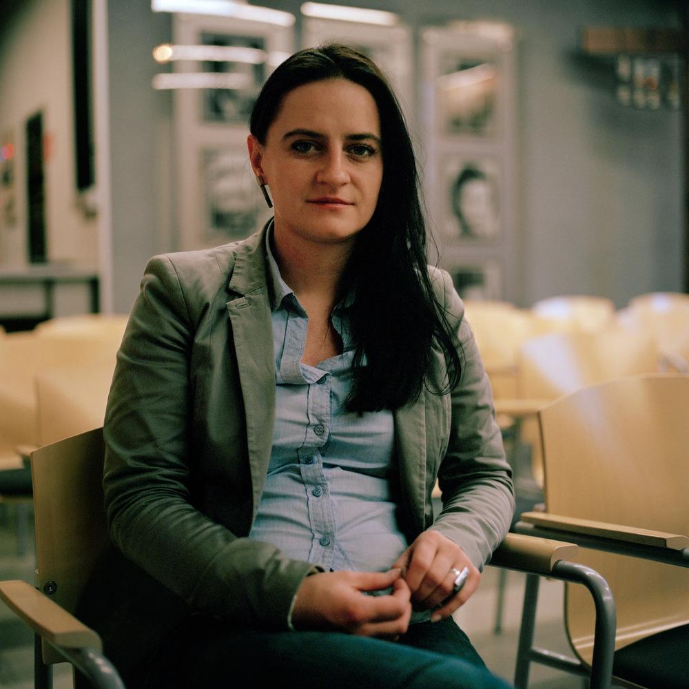 Katarzyna Kopczak (né en 1979), musée de la mine de Wujek. Katowice. 2013