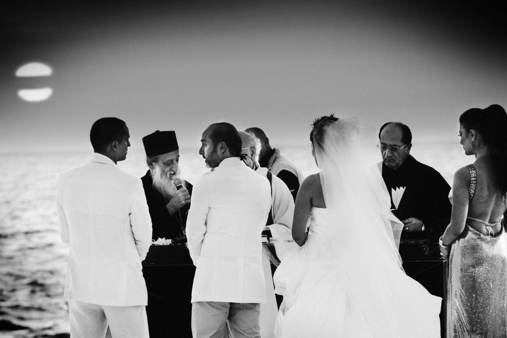 Cérémonie religieuse à l'occasion d'un mariage Batroun, octobre 2008