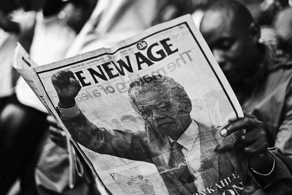 Funérailles Nelson Mandela Afrique du Sud décembre 2013