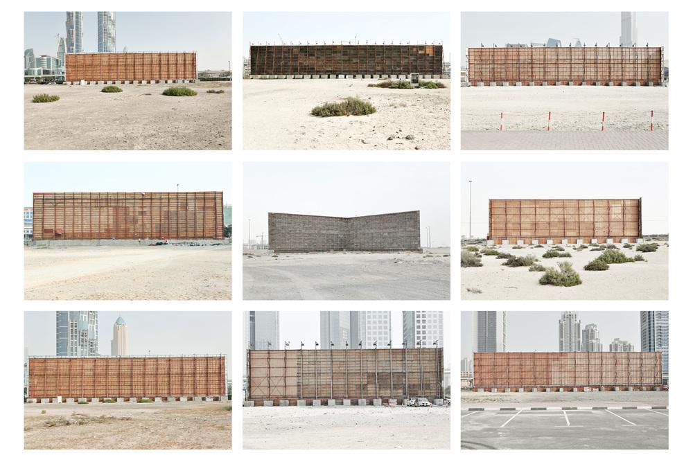 Montage s�rie Billboards du projet Beyond r�alis�e en f�vrier 2013 � Dubai