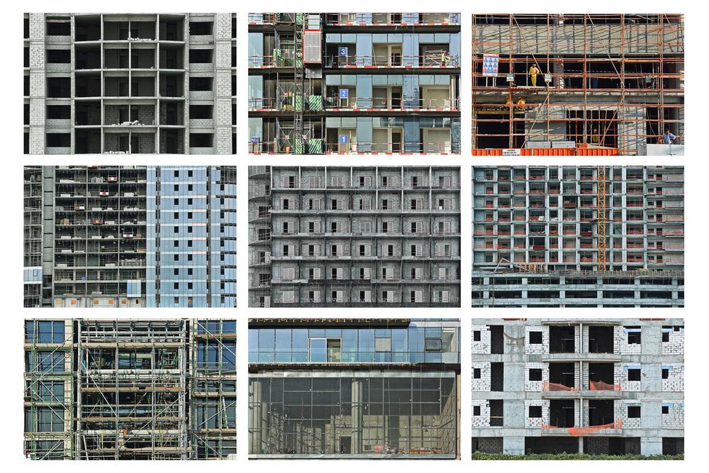 Montage s�rie Workfields du projet Beyond r�alis�e en novembre 2015 � Dubai