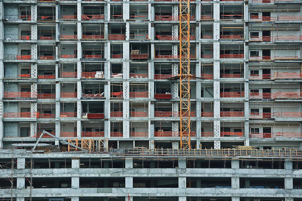 S�rie Workfields du projet Beyond r�alis�e en novembre 2015 � Dubai