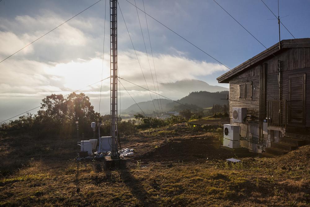 26 juin 2014, Observatoire volcanologique du Piton de la Fournaise (OVPF) situé à La Plaine des Cafres, Ile de la Réunion