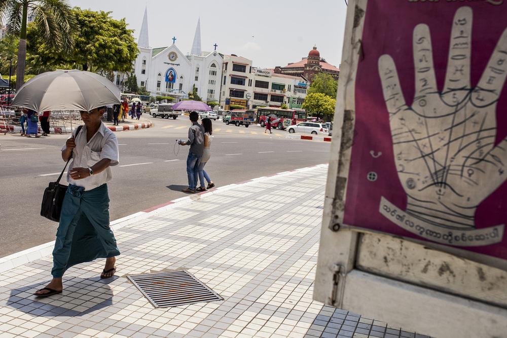 Birmanie, Mai 2015.