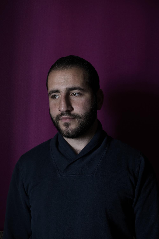 Mohamad, 23 ans, à Saint Etienne, 27 avril 2016.