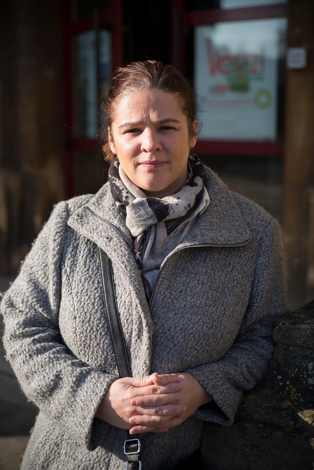Ambrosin-Chini Nathalie, conseillère dept PS du canton d'Hayange. 22 janvier 2017