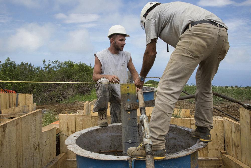 Janvier 2016. Projet LEO - St Gilles les Hauts. Ile de La Reunion, Océan Indien
