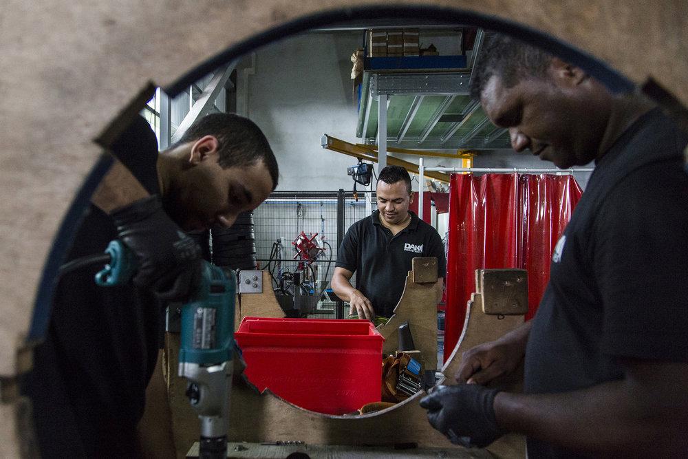 Janvier 2016. DAK Industries  - St  Pierre. Ile de La Reunion, Océan Indien