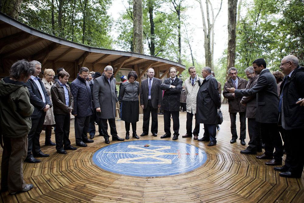 InaugurationdelaStructureForestièreRealisee_Chantier Ecole Metiers d'Art_Ecouen