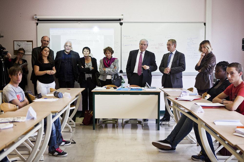 RegionIledeFrance_Inauguration du lycée de la nouvelle chance de l'académie de Versailles_Cergy