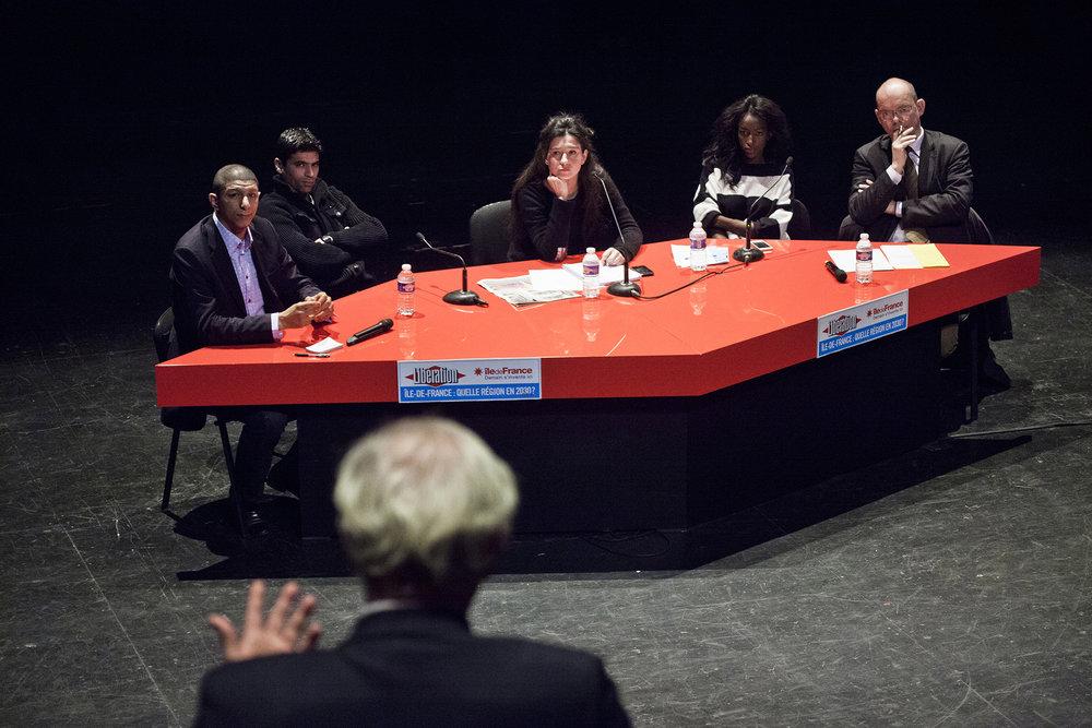 22 et 23 février 2013, débat entre Saïd Hammouche, Fondateur et directeur de Mozaïk RH, Youness Bourimech, Fondateur de Be Clean, Hapsatou Sy, Entrepreneuse et chroniqueuse TV et Xavier Lemoine, Maire de Montfermeil.