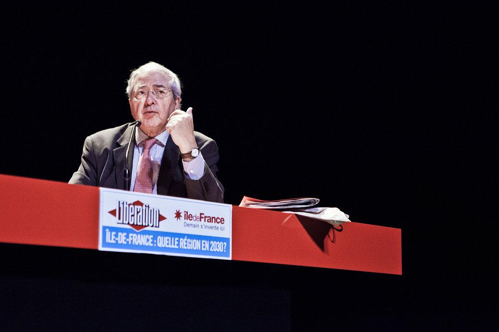 22 et 23 février 2013, débat entre Jean-Paul Huchon, Président de la Région Île-de-France et Guillaume Pépy, Président de la SNCF avec comme médiateur Nicolas Demorand, Directeur de la publication et de la rédaction du quotidien Libération.
