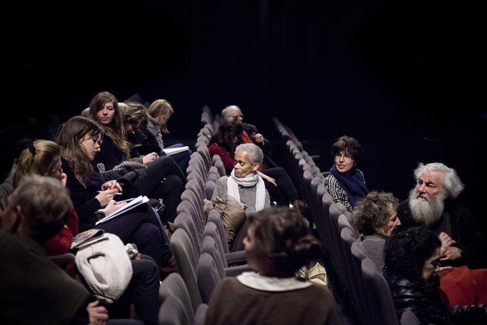 22 et 23 février 2013, participation du public lors des nombreux débats.