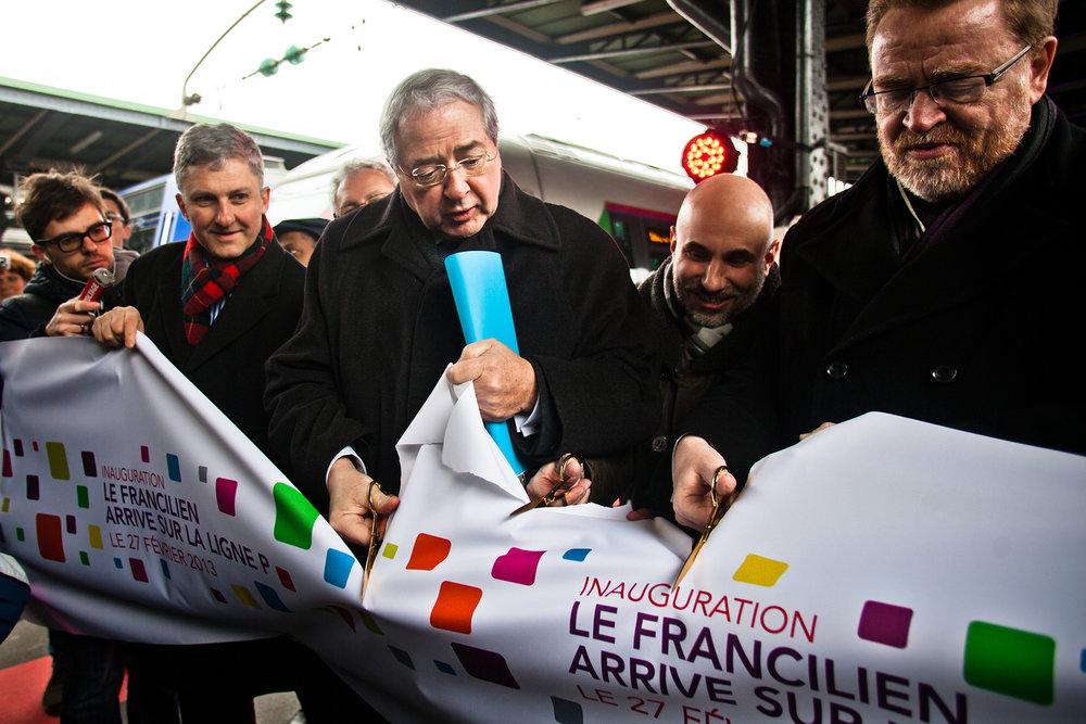 nauguration le deploiement du Francilien sur la ligne P_Vaires-sur-Marne