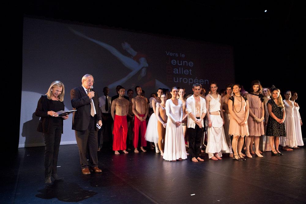Région Ile-de-France,Jeune Ballet Européen du CFA de la Danse, Chant et Comédie