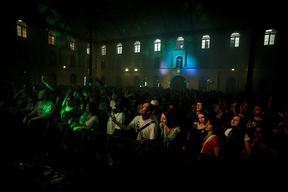 SOIREE AU SUBSISTANCES SOUS LA VERRIERE AVEC DUB FX ET FLECHETTE LYON LE 18 JUIN 2015