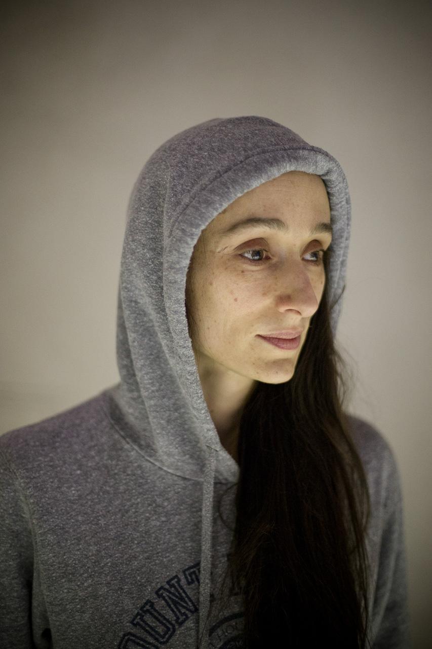 """Audrey Bonnet incarne Jeanne d'arc dans la nouvelle production de l'opéra de Lyon """"Jeanne au bûcher""""."""