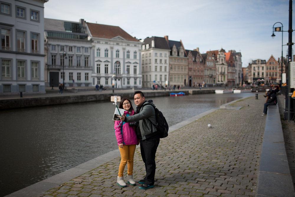 TOURISME A GAND, BELGIQUE / MAGAZINE A/R