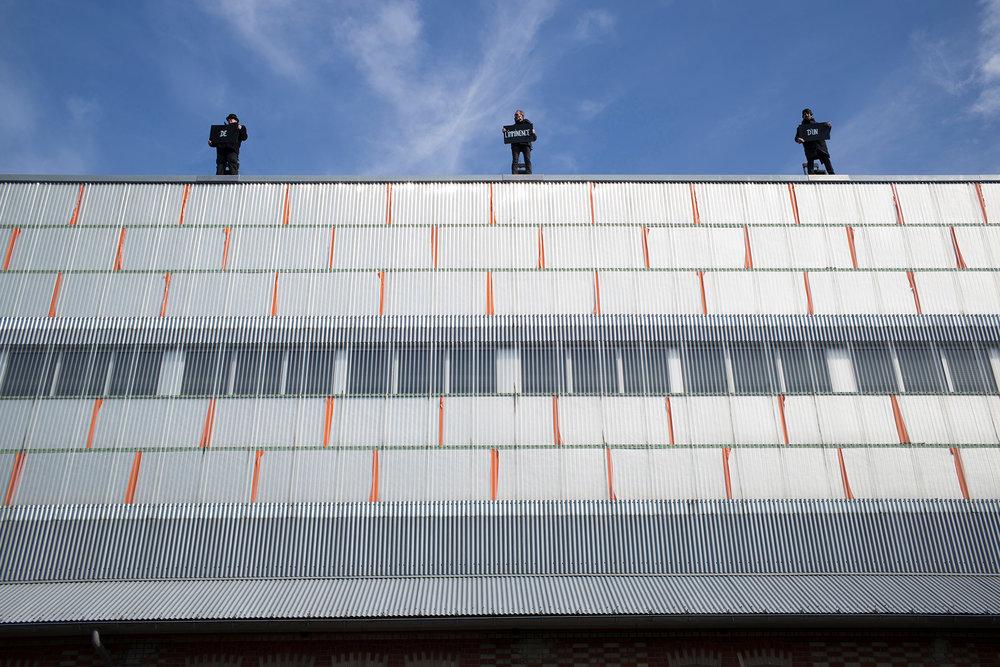 Compagnie des Souffleurs à Calais. Le 25 mars 2017