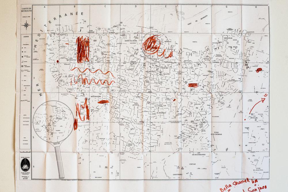 Jour de sortie : Cartographie de la liberté / Day off : Mapping
