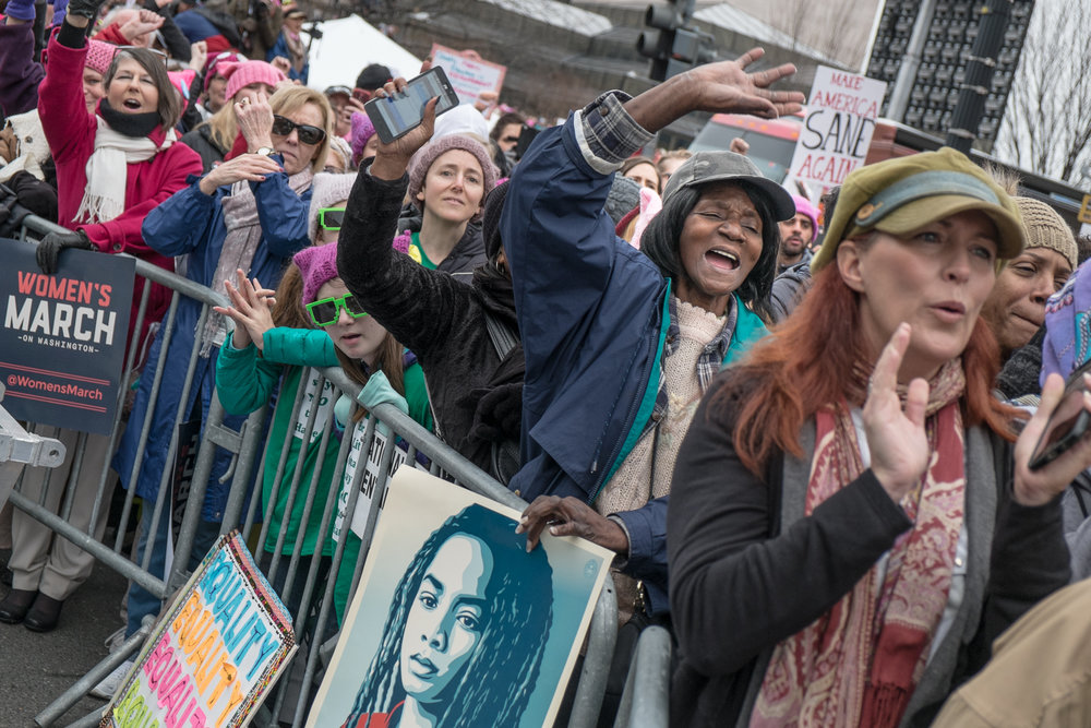 Women's March on Washington / Marche des femmes sur Washington