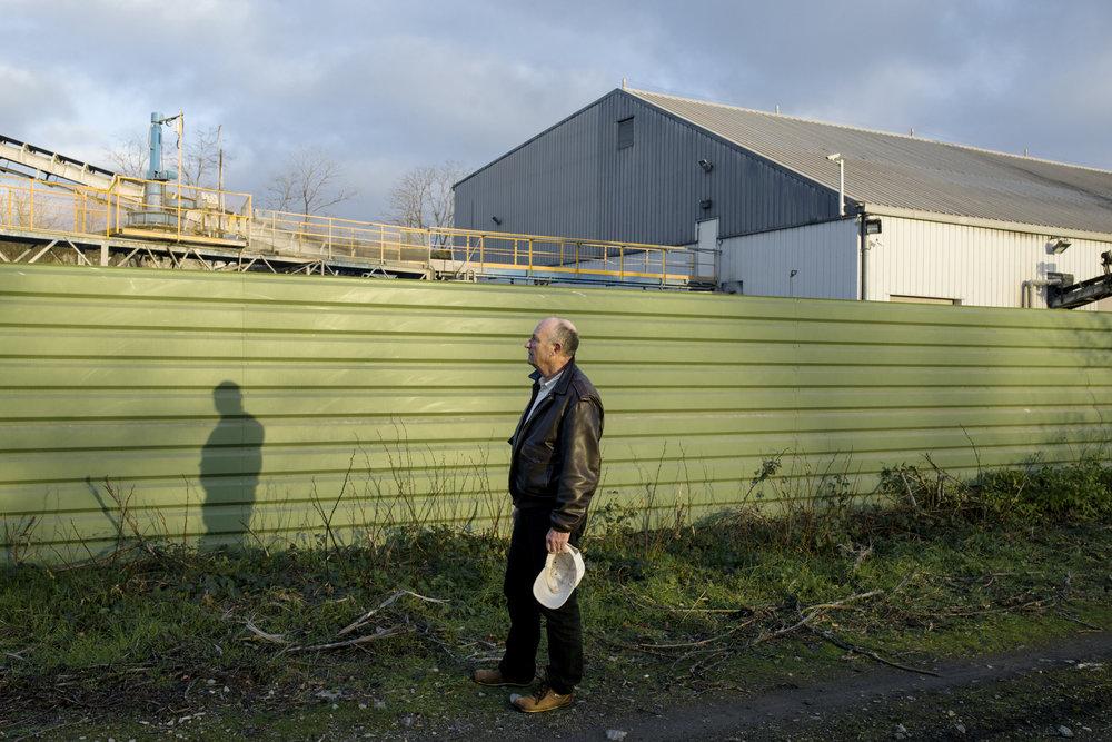 9 décembre 2015, 17H13. Roger Martin a fondé le collectif Stop Pollutions pour lutter contre les nuages de poussières causés par l'exploitation industrielle du crassier par Harsco Minerals France. Sauvigny-les-Bois