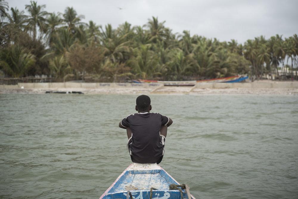 Delta du Siné-Saloum. Sénégal. 2017
