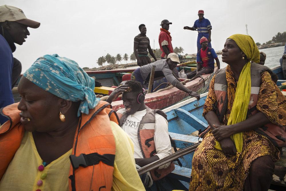 Djifer, Delta du Siné-Saloum. Sénégal.