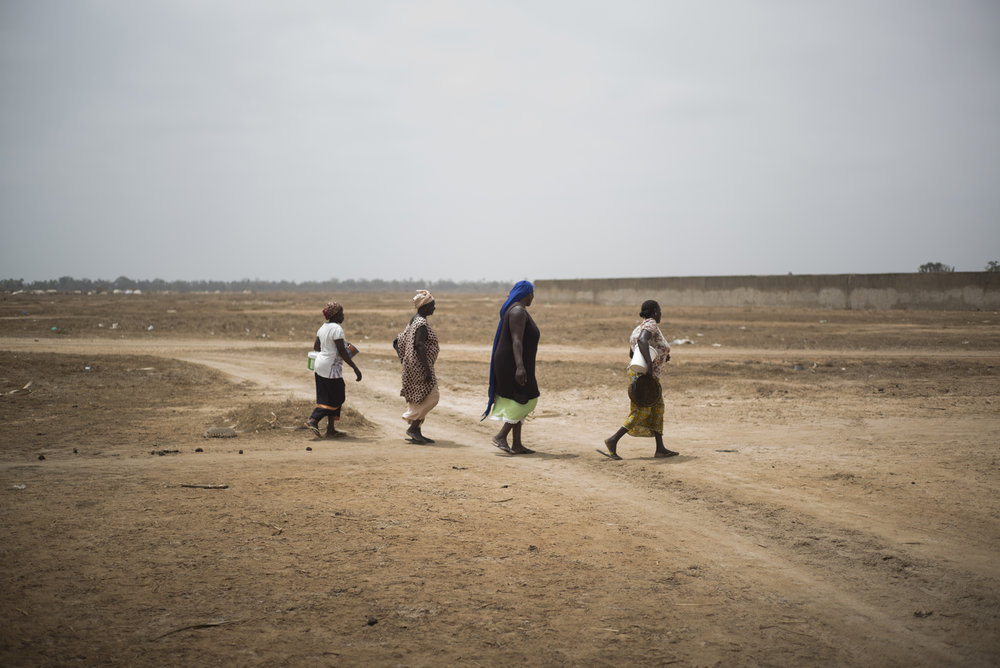 Exploitation de sel de Palmarin, Delta du Siné-Saloum. Sénégal.