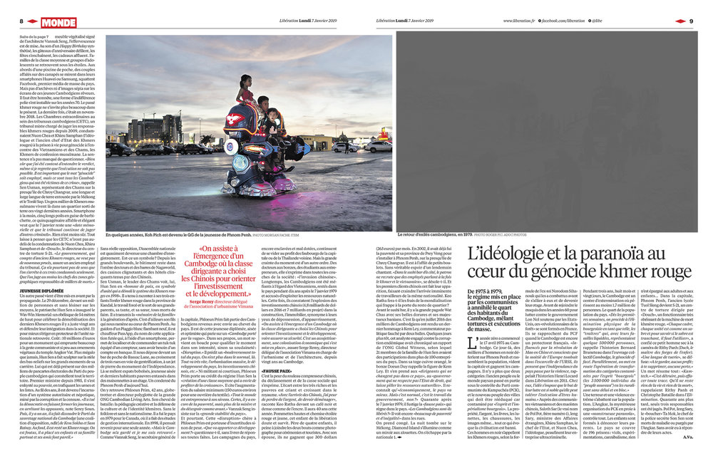 Libération / Morgan Fache / Janvier 2019