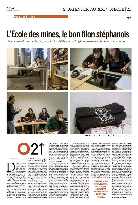 Le Monde / Romain Etienne