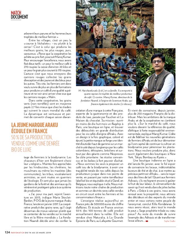 Paris Match / Cyril Marcilhacy / Mars 2019