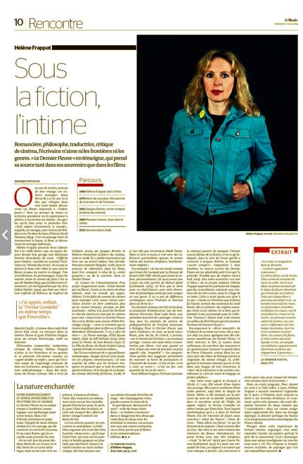 Le Monde / Bertrand Gaudillère