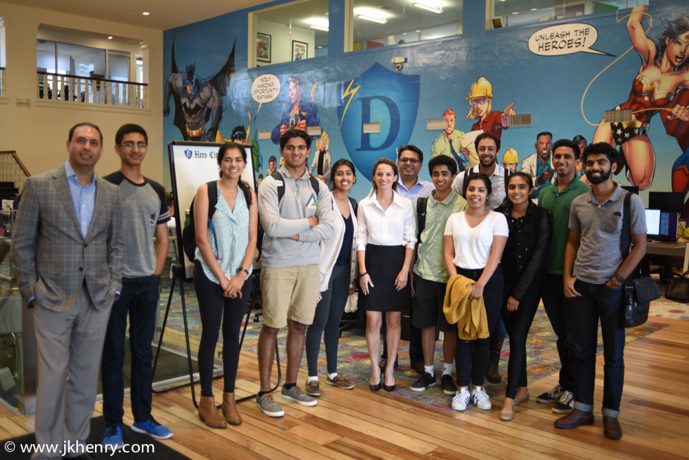 Our students visited Boost VC and Draper University