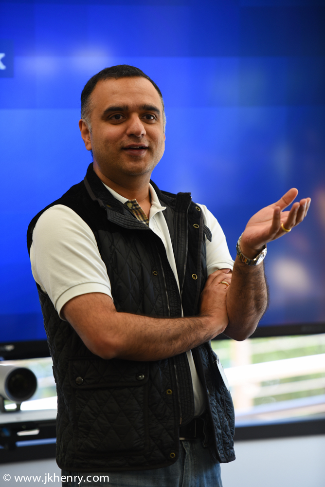We were delighted to have Dheeraj Pandey, CEO of Nutanix, give an inspiring keynote speech