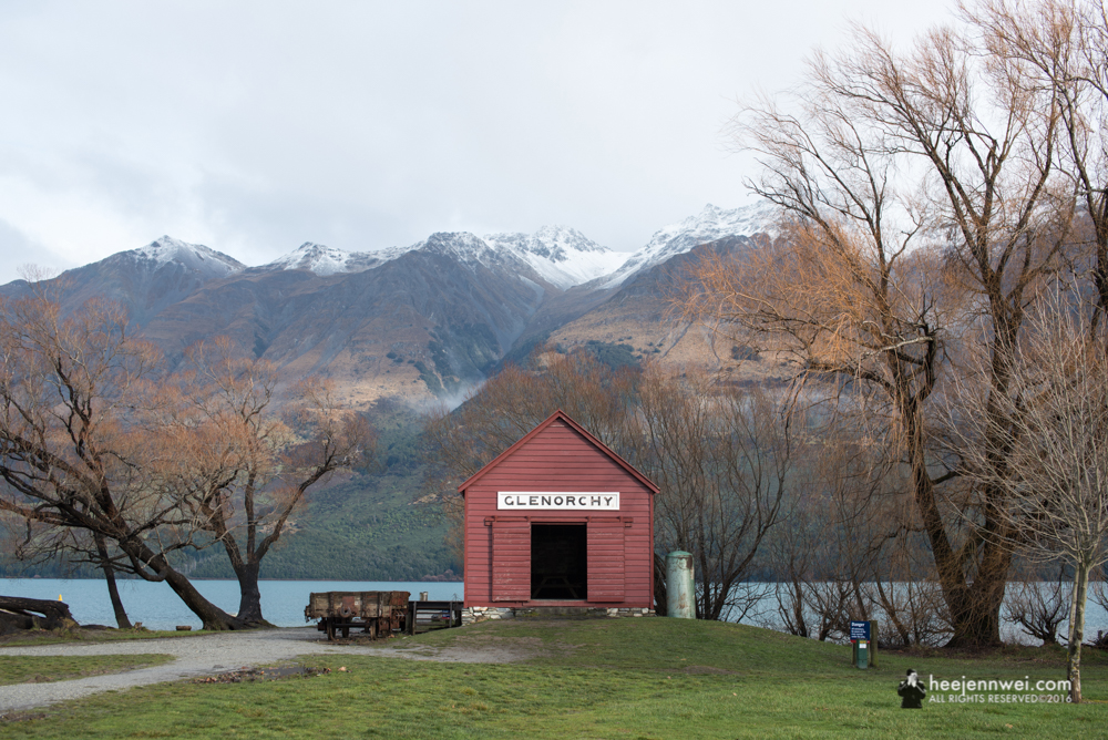 45 minutes drive from Queenstown to the historical Glenorchy.
