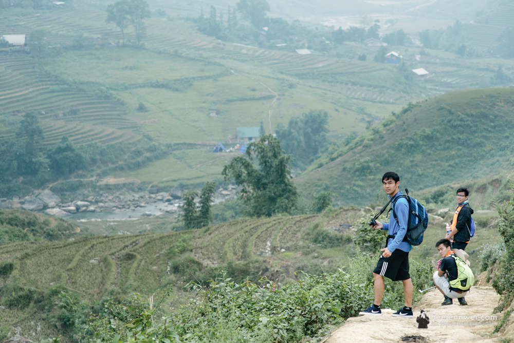 The hidden trek towards Giang Ta Chai.