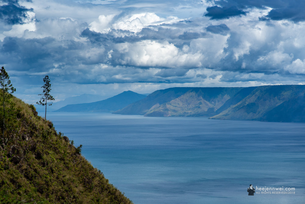 Another great view of Lake Toba.