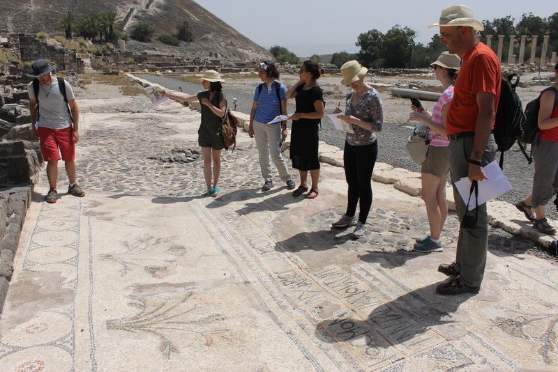 CAM Tour 2014 - Beth Shean (Scythopolis), Israel.