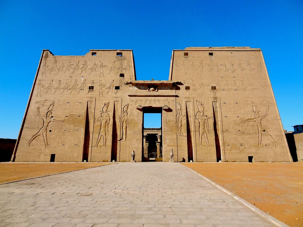 Edfu Temple Pylon