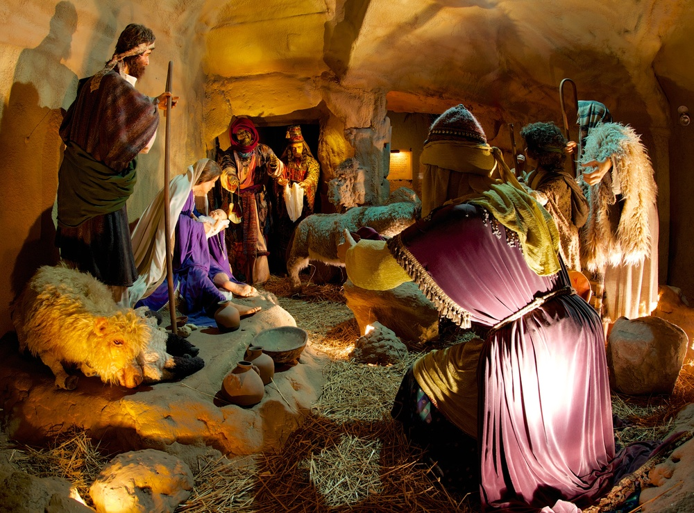 Figure 12: The First Christmas, the last exhibit experienced by visitors to the National Christmas Center, is a walk-through recreation of the sights and sounds of the Holy Land at the time of the birth of Christ.